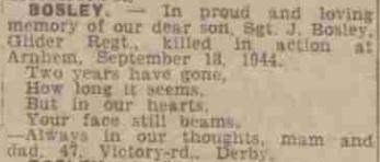 Derby Evening Telegraph 18-9-1945
