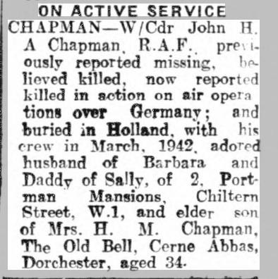 Marylebone Mercury 8-8-1942