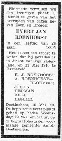 De Graafschapbode 22-5-1940