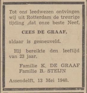 De Zaanlander 22-5-1940