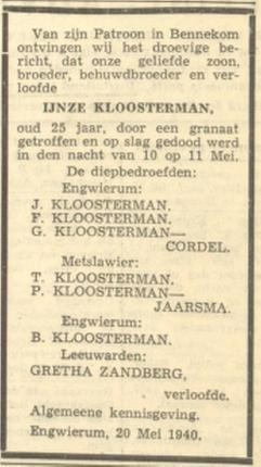 Leeuwarder Courant 22-5-1940
