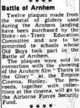 The Evening Sentinel 26-11-1944