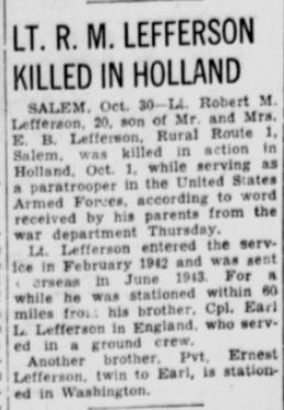 Centralia Evening Sentinel 30-10-1944