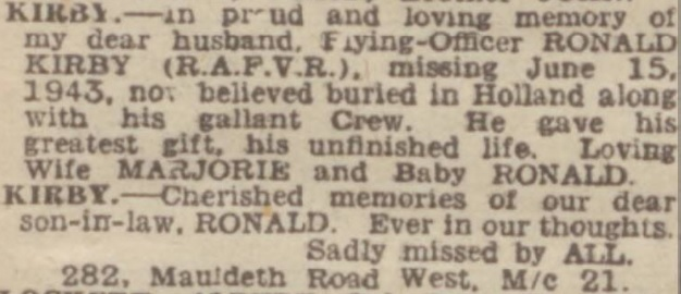 Manchester Evening News 15-6-1945