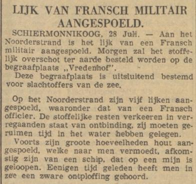 De courant 29-7-1940