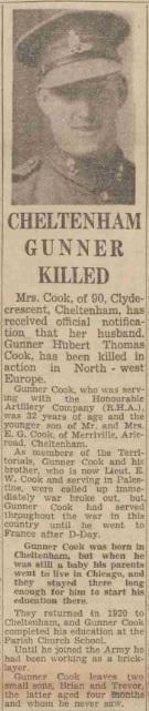 Gloucestershire Echo 25-10-1944