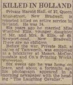 Cheltenham Chronicle 10-2-1945