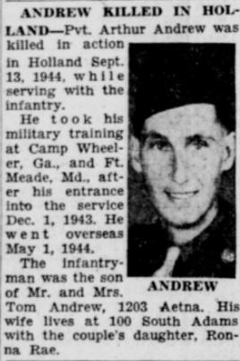 Burlington Hawk Eye Gazette 8-5-1945