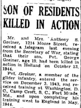 Huntingdon Daily News 3-11-1944