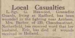 Nottingham Evening Post 18-10-1944