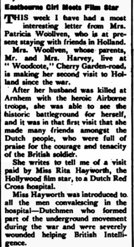Eastbourne Chronicle 9-5-1947