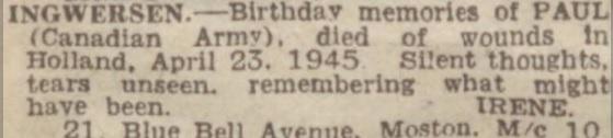 Manchester Evening News 29-9-1945