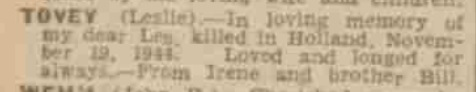 The coventry Evening Telegraph 19-11-1945