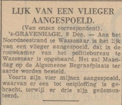 De courant 9-12-1940