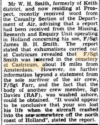 Border Chronicle 3-7-1947