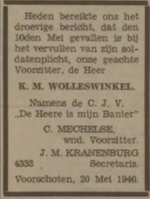 Leidsch Dagblad 20-5-1940