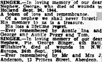 Aberdeen Evening Express 25-9-1945