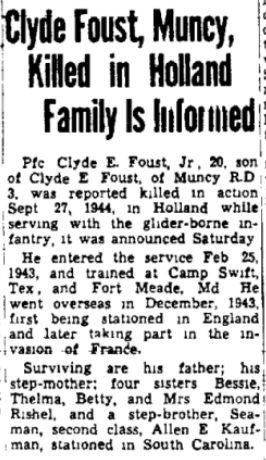 Gazette and Bulletin 30-10-1944