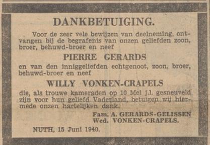 Limburger Koerier 15-6-1940