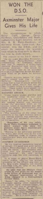 Devon and Exeter Gazette 20-4-1945