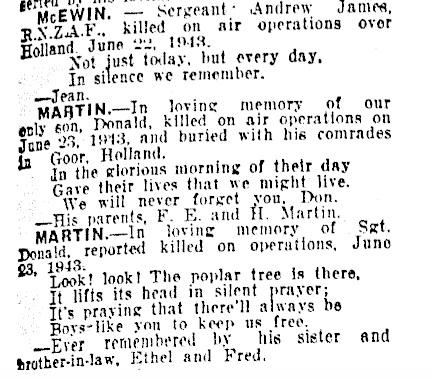 New Zealand Herald 23-6-1945
