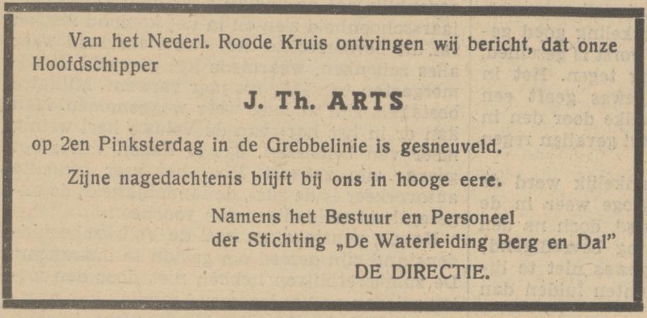 Provinciale Geldersche Courant 7-6-1940