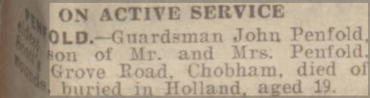 Surrey Advertiser 31-3-1945