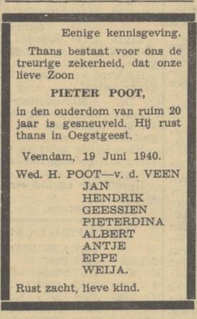 De Noord-Ooster 20-6-1940