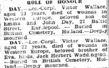 Hartlepool Northern Daily Mail 26-4-1945