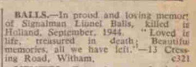 The Essex Chroniclw 14-9-1945