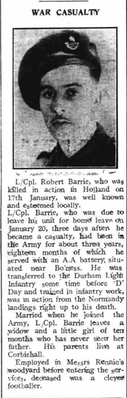 The Boness Journal 2-2-1945