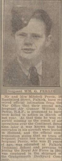 Falkirk Herald 17-2-1945