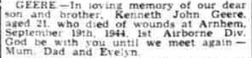 Worthing Gazette 19-9-1945