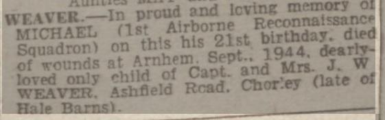 Manchester Evening 31-5-1946