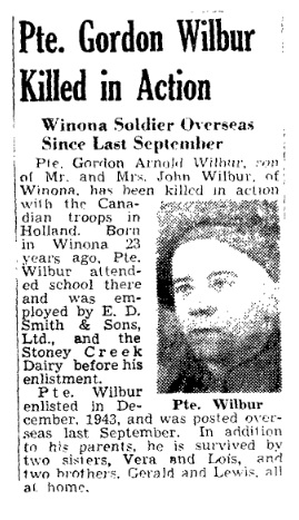 Hamilton Spectator 24-2-1945