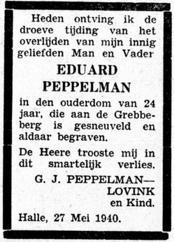 De Graafschap Bode 27-5-1940