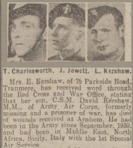 Liverpool Echo 19-1-1945