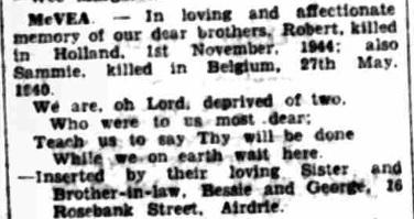 Airdrie&Coatbridge Advertiser 10-11-1945