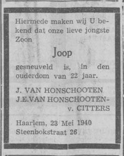 Haarlems Dagblad 23-5-1940