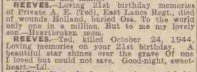 Birmingham Mail 23-11-1945
