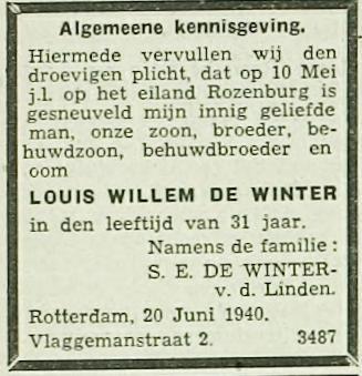 Rotterdamsch Dagblad 24-6-1940