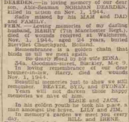 Manchester Evening News 1-11-1945