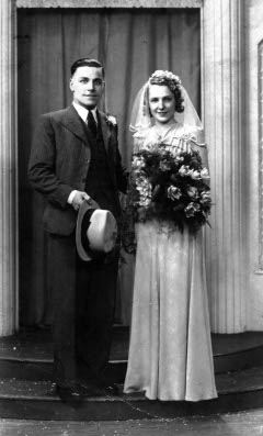 John and his wife (copyright Mr A.W.Denton)