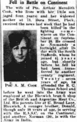 The Walsall Observer 14-10-1944