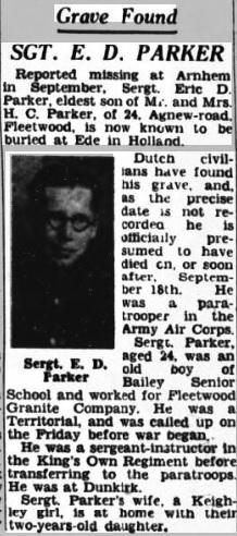 Fleetwood Chronicle 13-7-1945