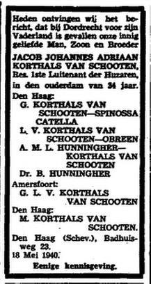 Het Vaderland 20-5-1940