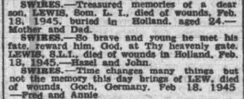 Yorkshire Evening Post 18-2-1948