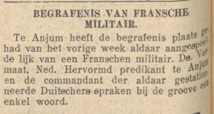 7-8-1940 Leeuwarder Nieuwsblad (Anjum)