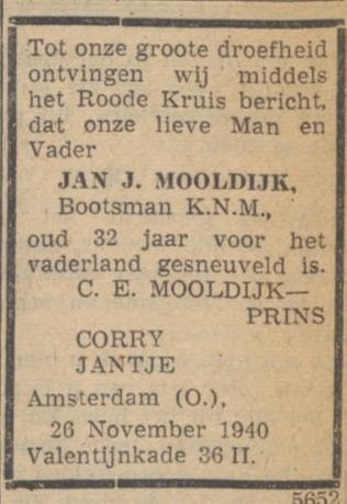 De Courant 3-12-1940