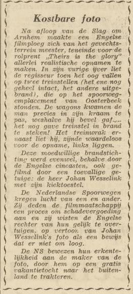 Arnhemsche Courant 2-7-1960